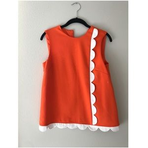 Orange Victoria Beckham Blouse